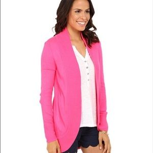 Lilly Pulitzer Tropical Pink Amalie Cardigan